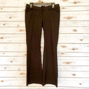 The Limited Brown Drew Fit Dress Pants